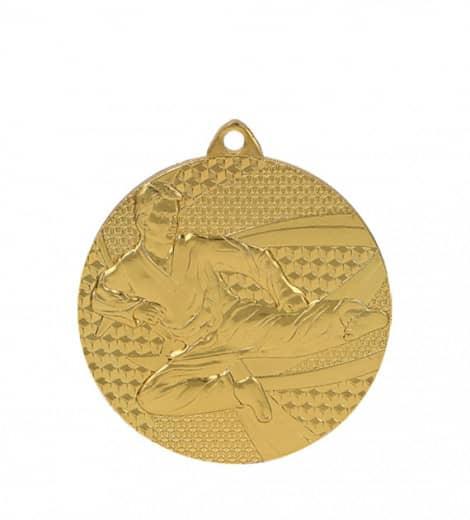 Medaille Karate Ø 50mm mit Band
