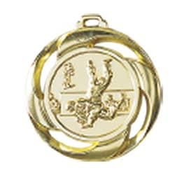 Medaille Judo Ø 40mm mit Band