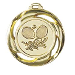 Medaille Tennis Ø 40mm mit Band