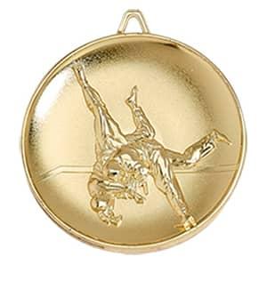 Medaille Judo Ø 65mm mit Band