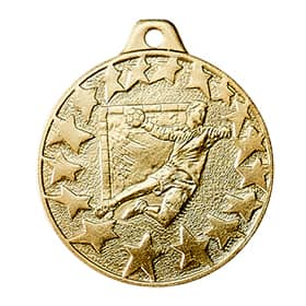 Medaille Handball Ø 40mm gold mit Band