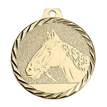 Medaille Pferd