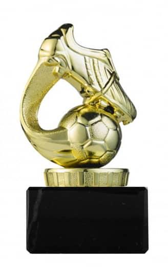 Fußballpokal Schuh PF01 gold
