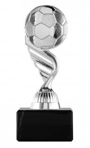 Fußballpokal Ball PF127 silber