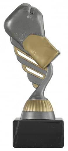 Boxpokal PF237 altsilber/gold