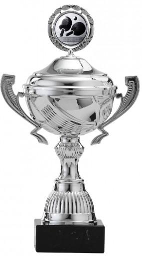 Pokale 12er Serie S767 silber mit Deckel