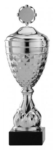 Pokale 12er Serie S761 silber mit Deckel