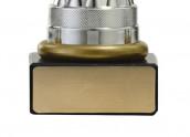 Pokale 6er Serie S502 silber/gold mit Deckel 34 cm