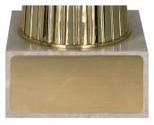 Pokale 6er Serie TRY8289 gold/blau 22,5 cm