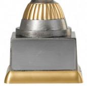 Tennispokal PF209-M61 altsilber/gold 15,8cm
