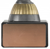 Badmintonpokal PF230 altsilber/gold