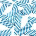 K42956 Konfetti Kanone Bayern Blau Weiss Konfettikanone Bayern Oktoberfest blau/weiß