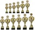 Reefmans760 Pokale 12er Serie S760 gold/silber mit Deckel