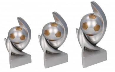 SALE: Fußballpokale 3er Serie TRY-RP110 silber gold