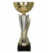 Pokale 3er Serie TRY-7182 gold-silber 23,5 cm