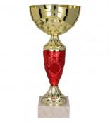 Pokale 6er Serie TRY9057 gold/rot 20 cm