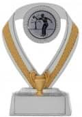 Bowlingpokale 3er Serie C533-BOW silber 10 cm