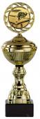 Billardpokale 6er Serie S148-BI gold mit Deckel 22 cm