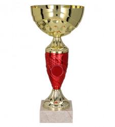 Pokale 6er Serie TRY9057 gold/rot