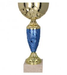 Pokale 6er Serie TRY9058 gold/blau