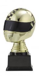 """Figurpokal """"Helm"""" PF353.1-M60 gold/schwarz"""
