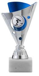 Pokale 3er Serie A1215 silber/blau