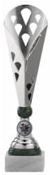Pokale 3er Serie A301 silber/grün
