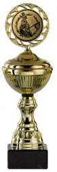 Golfpokale 6er Serie S148-GOLF gold mit Deckel