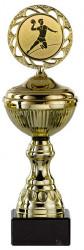 Handballpokale 6er Serie S148-HA gold mit Deckel