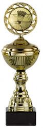 Badmintonpokale 6er Serie S148-BAD gold mit Deckel