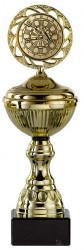 Dartpokale 6er Serie S148-DART gold mit Deckel