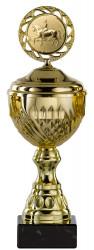 Pokale 6er Serie S456 gold mit Deckel