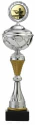 Pokale 6er Serie S502 silber/gold mit Deckel