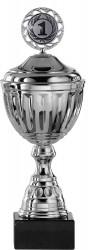SALE: Pokale 12er Serie S753 silber mit Deckel