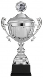 Badmintonpokale mit Henkel 6er Serie S916-BAD silber
