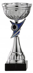Pokale 6er Serie S486 silber/blau