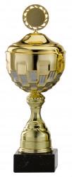 Pokale 12er Serie S760 gold/silber mit Deckel