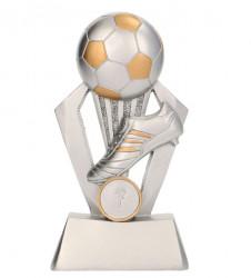 Fußballpokale 3er Serie TRY-RP800 silber gold