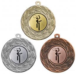 """Medaille """"Gyges"""" Ø 50 mm inkl. Wunschemblem und Kordel"""