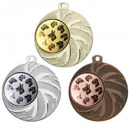 """Medaille """"Arges"""" Ø 45 mm inkl. Wunschemblem und Kordel"""