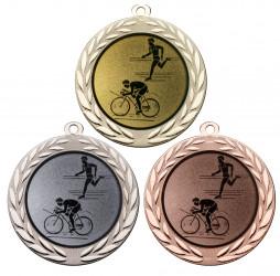 "Medaille ""Moiren"" Ø 70 mm inkl. Wunschemblem und Kordel"