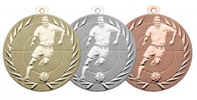 """Fußballmedaille """"Spieler"""" Ø 50 mm inkl. Kordel"""