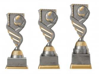 Handballpokal PF203-M61 altsilber/gold