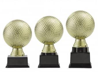 "Ballpokal ""Golf"" PF308.1-M60 gold"