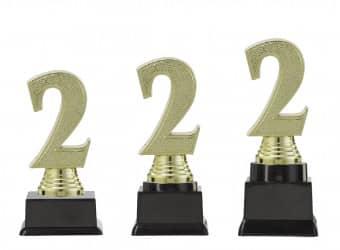 "Figurpokal ""Zwei"" PF352.2-M60 gold"