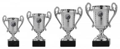 SALE: Pokale mit Henkel 4er Serie A315 silber