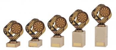 SALE: Dartpokal 5er Serie TH-16198