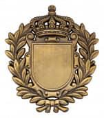 Königsabzeichen 8 altgold