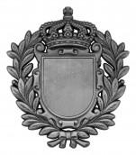 Königsabzeichen 8 altsilber