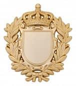 Königsabzeichen 8 matt gold